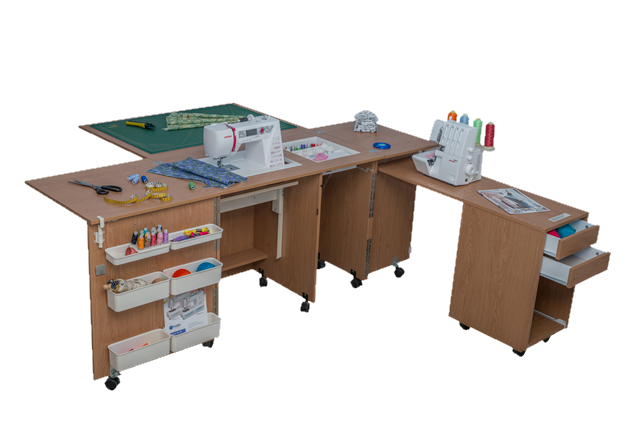 COMFORT 4 Sewing machine and overlocker table