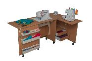 COMFORT 5+ Sewing machine and overlocker table